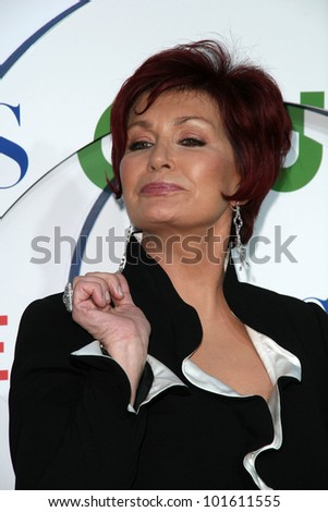 Sharon Osbourne  at the CBS, The CW, Showtime Summer Press Tour Party, Beverly Hilton Hotel, Beverly Hills, CA. 07-28-10 - stock photo