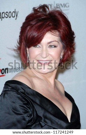Sharon Osbourne at the 2007 Clive Davis Pre-Grammy Awards Party. Beverly Hilton Hotel, Beverly Hills, CA. 02-10-07 - stock photo