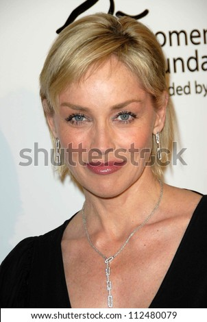 "Sharon Stone at ""The Billies"" presented by the Women's Sports Foundation. Beverly Hilton Hotel, Beverly Hills, CA. 04-11-07"