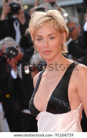 Sharon Stone at the 60th anniversary gala at the 60th Annual International Film Festival de Cannes. May 20, 2007  Cannes, France.  2007 Paul Smith / Featureflash
