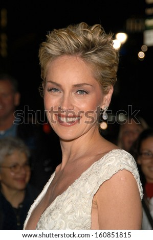 Sharon Stone the host of the Princess Grace Foundation's 2004 Awards Gala held at Cipriani's 42nd St October 27, 2004 in New York City