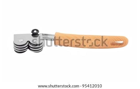 Sharpening knife grinder, isolated on white background - stock photo