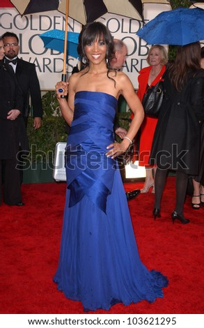 Shaun Robinson at the 67th Annual Golden Globe Awards, Beverly Hilton Hotel, Beverly Hills, CA. 01-17-10
