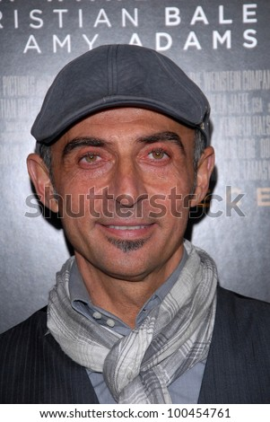 "Shaun Toub  at ""The Fighter"" Los Angeles Premiere, Chinese Theater, Hollywood, CA. 12-06-10"