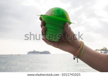 Shave Ice & Cruise Ship