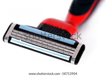 Shaving razor - stock photo