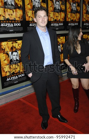"SHAWN HATOSY at the world premiere of his new movie ""Alpha Dog"" at the Arclight Theatre, Hollywood. January 3, 2007  Los Angeles, CA Picture: Paul Smith / Featureflash"