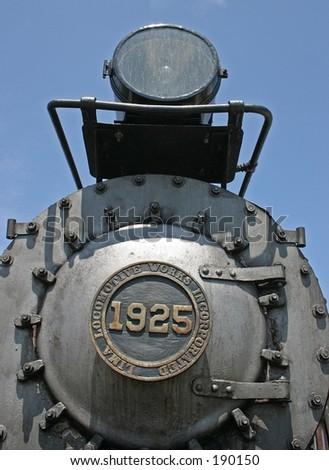 Shay locomotive - stock photo
