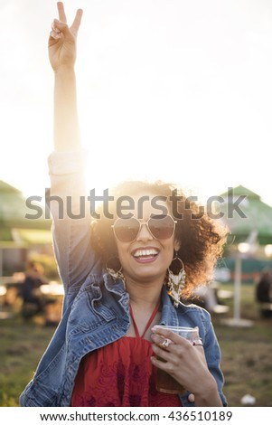 She feels really free right now
