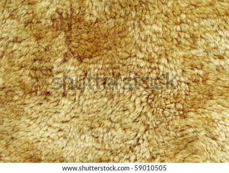 Sheep fur background texture - stock photo