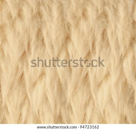 Sheep skin Background - stock photo