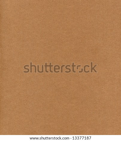Sheet of brown paper - stock photo