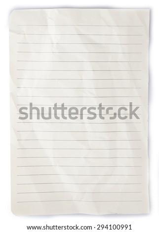 Paper tear fold rip crease cut book