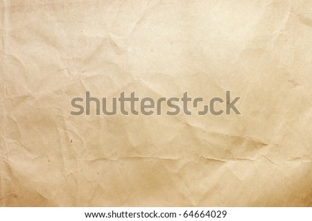 Sheet of paper isolated on white background - stock photo