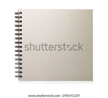 sheet of paper isolated on white background with clipping path.
