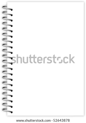 Sheet Paper with Metal Spiral-1