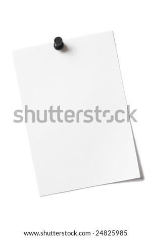 Sheet Scrap - stock photo