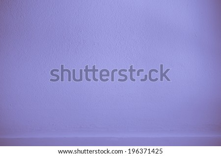 Shelf built-in Blue color cement texture background for design - stock photo
