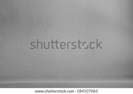 Shelf built-in Gray color cement texture background for design - stock photo