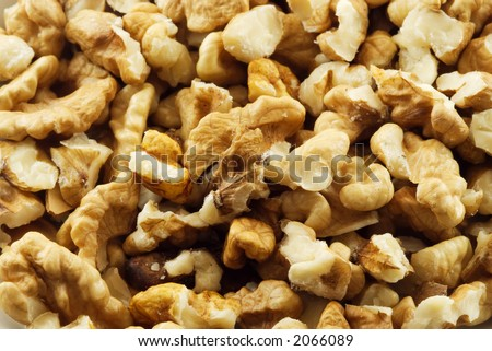 Shelled nuts - Detail