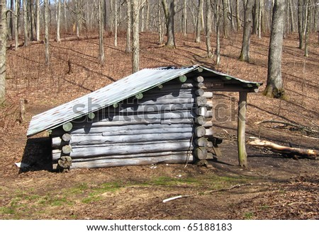 Shelter on the Appalachian Trail