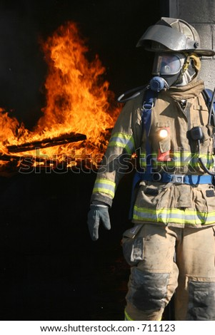 Shelton, CT F.D. Training 11/14/04 - stock photo