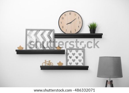 Modern Shelves modern shelf stock images, royalty-free images & vectors