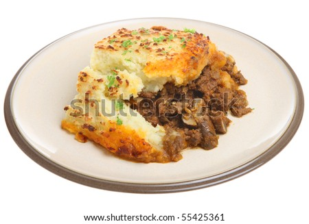 Shepherds pie - stock photo