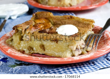 Shepherds pie with chicken - stock photo