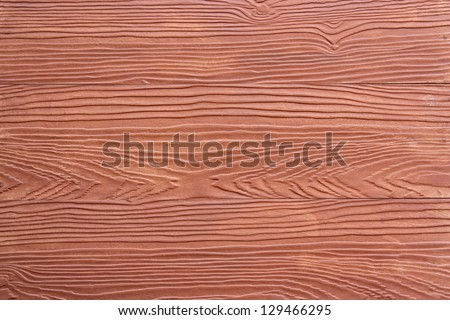 Shera Wood red background. The beautiful design of the wall. - stock photo