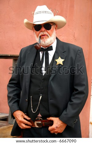 Sheriff - stock photo