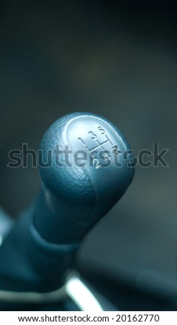 Shift knob - stock photo