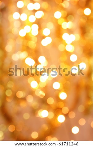 Shimmering blur background with shining lights - stock photo