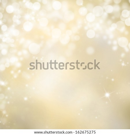Shimmering blur spot lights on abstract background - stock photo