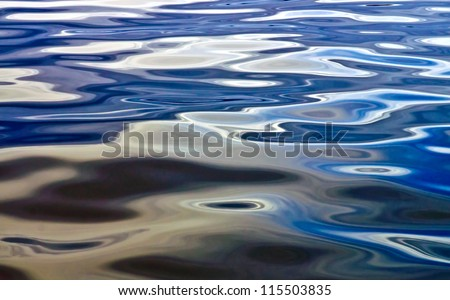 Shimmering Seawater Background - stock photo