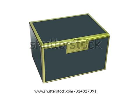 shinny edge box - stock photo