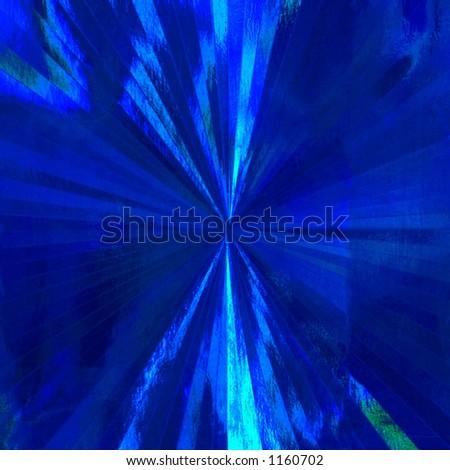 Shiny blue background - stock photo