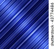 Shiny blue diagonal stripes abstract background. - stock photo