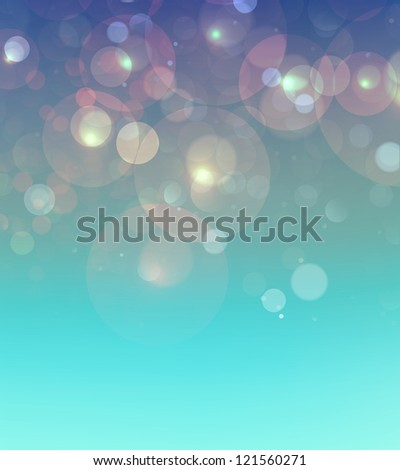 shiny blurry lights, celebration background - stock photo