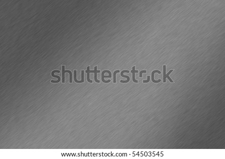 Shiny brushed aluminum/chrome texture. Background. - stock photo