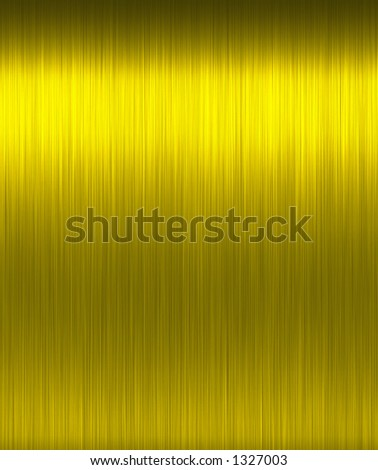 Shiny Brushed Gold. Texture or background. Tileable, repeatable horizontally. - stock photo