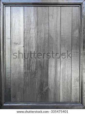 shiny dark wood panels background - stock photo