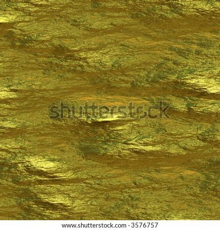 Shiny gold - stock photo