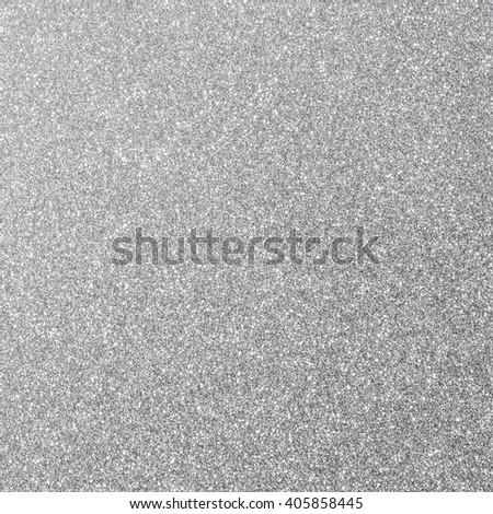 Shiny hot silver white grey gray color decorative texture paper Bright brilliant festive glossy metallic look textured empty wallpaper backdrop: Aluminium tin metal material craft design decoration - stock photo