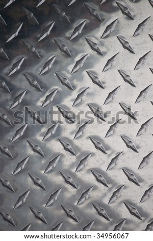 shiny metal surface / abstract industrial background /