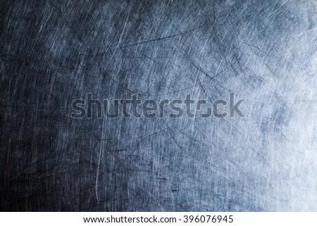 Shiny metal texture background, steel texture  - stock photo