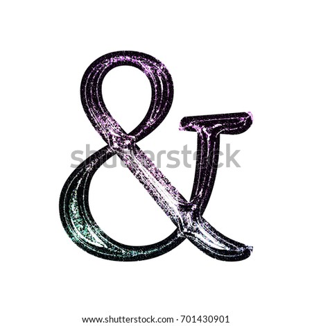 painted ampersand stock images royaltyfree images