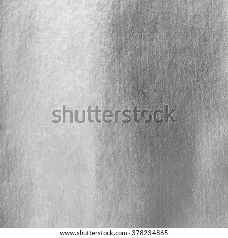 Shiny silver white grey gray paper foil decorative texture background: Bright brilliant festive glossy metallic look textured backdrop:  Metal steel like material pattern surface for design decoration - stock photo