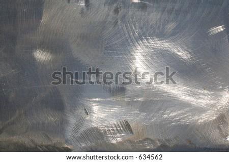 Shiny steel - stock photo