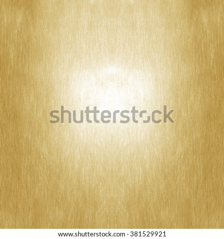 Shiny yellow leaf gold foil texture background - stock photo